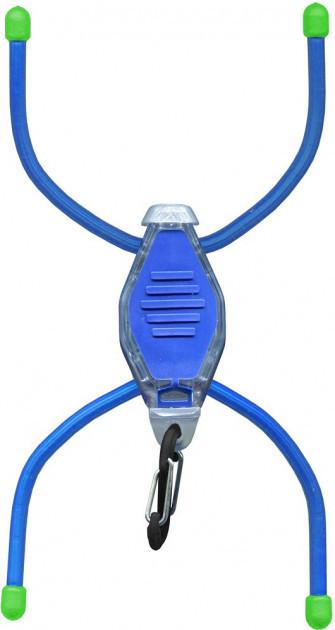 Мощный микро фонарь из поликарбоната с эффективной дальностью свечения Nite Ize BikeBug ЛЕД BLU/NI658 Blue