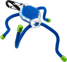 Мощный микро фонарь из поликарбоната с эффективной дальностью свечения Nite Ize BikeBug ЛЕД BLU/NI658 Blue, фото 2