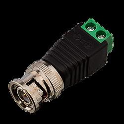 Коннектор для передачі відеосигналу Green Vision GV BNC/M (male) (1уп =10шт)
