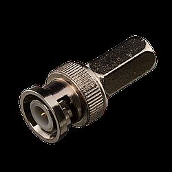 Коннектор для передачі відеосигналу Green Vision GV BNC/M (RG59) twist