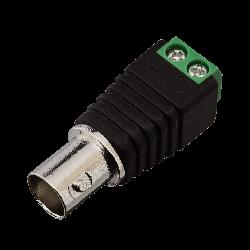 Коннектор для передачі відеосигналу Green Vision GV BNC/F (female)