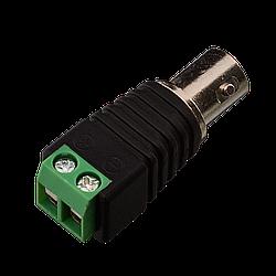 Коннектор для передачі відеосигналу Green Vision GV BNC/F (female) (1уп =10шт)