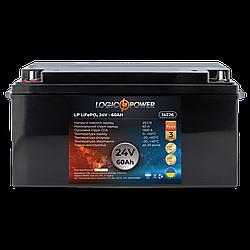Аккумулятор для автомобиля литиевый LP LiFePO4 24V - 60 Ah (+ слева, прямая полярность) пластик