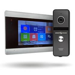 Комплект AHD видеодомофона GV-055 + Вызывная панель GV-003
