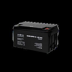 Акумулятор кислотний AGM LogicPower LPM 12 - 65 AH