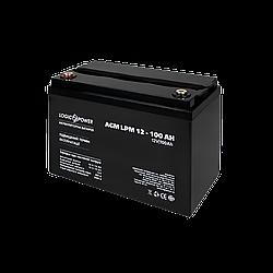 Акумулятор кислотний AGM LogicPower LPM 12 - 100 AH