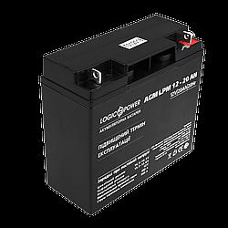 Акумулятор кислотний AGM LogicPower LPM 12 - 20 AH