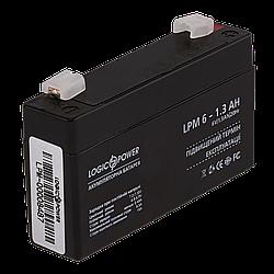 Акумулятор AGM LogicPower LPM 6-1,3 AH