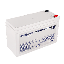 Акумулятор мультигелевый AGM LogicPower LP-MG 12 - 7 AH