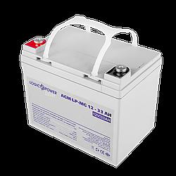 Акумулятор мультигелевый AGM LogicPower LP-MG 12 - 33 AH