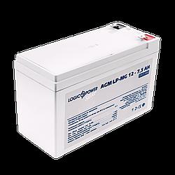Акумулятор мультигелевый AGM LogicPower LP-MG 12 - 7,5 AH