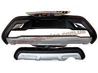 Накладки на бампер передняя и задняя Changan CS35 2012+ , фото 1