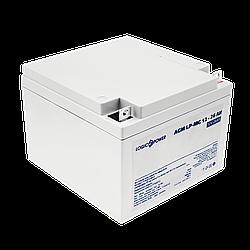 Акумулятор мультигелевый AGM LogicPower LP-MG 12 - 26 AH