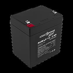 Аккумулятор кислотный AGM LogicPower LP 12 - 5,0 AH