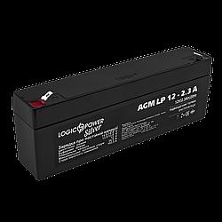 Аккумулятор кислотный AGM LogicPower LP 12 - 2,3 AH