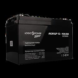 Аккумулятор кислотный AGM LogicPower LP 12 - 100 AH