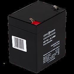 Аккумулятор кислотный AGM LogicPower LP 12 - 3,3 AH