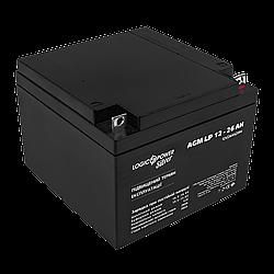 Аккумулятор кислотный AGM LogicPower LP 12 - 26 AH