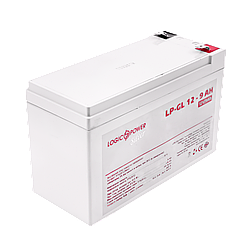Акумулятор гелевий LogicPower LP-GL 12 - 9 AH