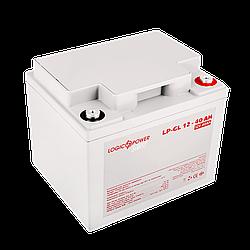 Акумулятор гелевий LP-GL 12 - 40 AH SILVER