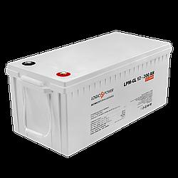 Акумулятор гелевий LP-GL 12 - 200 AH SILVER