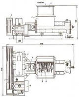 Пресс сепаратор механической обвалки мяса  Дробилка для костей
