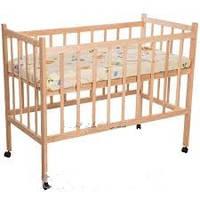 Детская кроватка наталка из ясеня (базовая)
