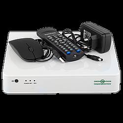 УЦ (4635) Гібридний відеореєстратор AHD Green Vision GV-S-036/08 * 1080N