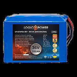 Аккумулятор LP LiFePO4 36V - 202 Ah (BMS 60A/30A)