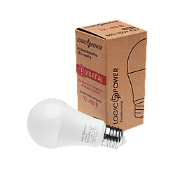Низьковольтна Лампа LogicPower-01-MO-E27-10W-4000K-12-48V