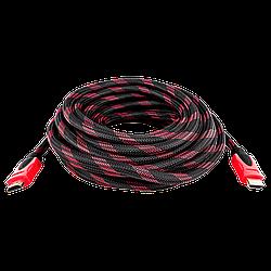 Кабель HDMI-HDMI LogicPower Ver 1.4 для 3D 10 м (доп. оплетка)