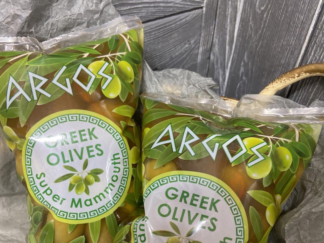 Оливки зелені грецькі 900 г