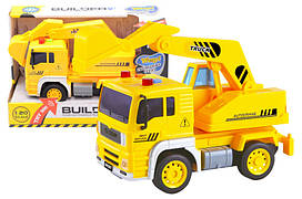Машинка Вантажівка екскаватор WY510С , муз. світ,