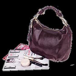 Жіноча сумка Realer P112 коричнева