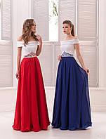 Вечернее платье (20) для выпускных вечеров и свидетельниц (цвета - в ассортименте)