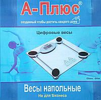 Ваги підлогові електронні А-плюс до 150 кг