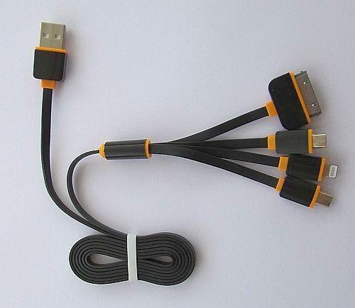 Універсальний зарядний для телефонів 4 в 1 (Iphone 5)