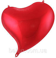 Серце скошене (Червоний) 47*50