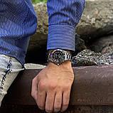 Стильные мужские часы Rolex Submariner 6478 Silver-Black 1020-1019, фото 5
