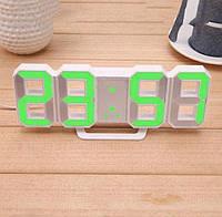 Електронні Led годинник з будильником і термометром Caixing Cx-2218, green, фото 1