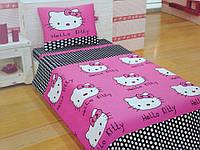 Хелло Китти (бязь Турция), Подростковый комплект постельного белья