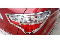 Хром на задние фары Changan CS35 2012+