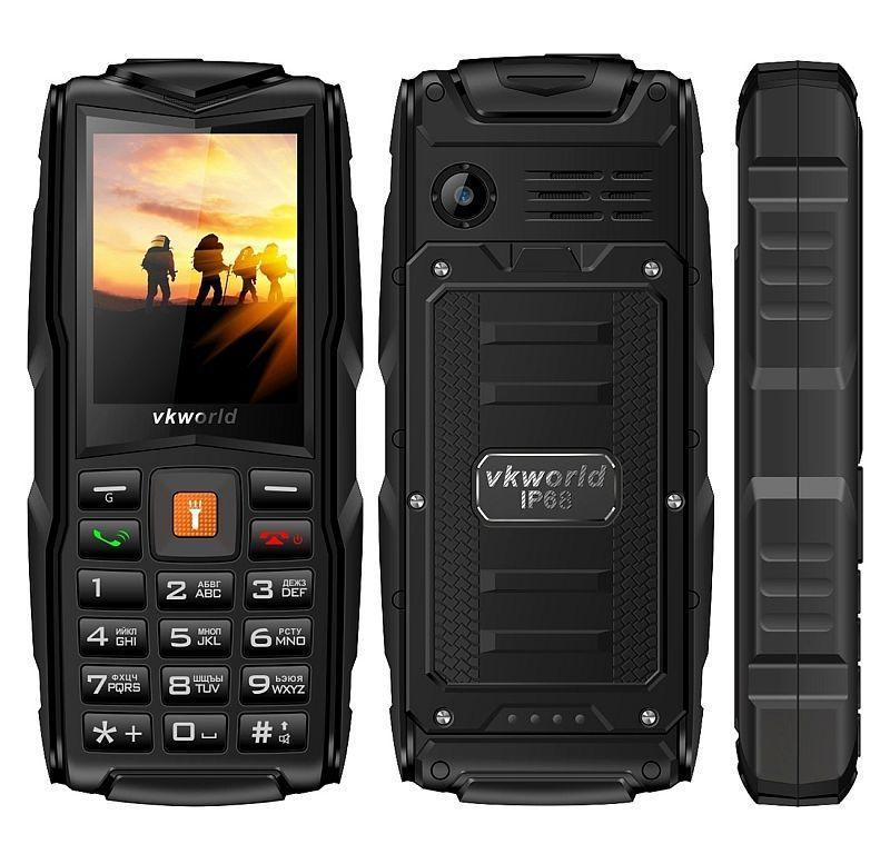 Телефон Vkworld Stone V3, Ip68, 3 Sim , 2мп, 3000mAh