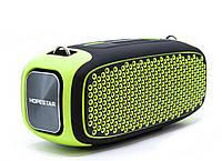 Беспроводная портативная Bluetooth колонка Hopestar A30 (Салатовый)