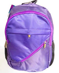 Школьный рюкзак с ортопедической спинкой, 4 отделения, фиолетовый