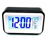 Часы будильник At-608 с подсветкой, фото 1