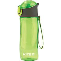 """Пляшка для води """"Kite"""" 530мл K18-400-01 зелена"""