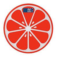 Підлогові ваги scale апельсин до 180 кг, red