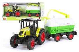 Інерційний трактор WENYI з цистерною WY900A
