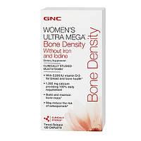 GNC Women's Ultra Mega Bone Density without iron and iodine 120 caplets